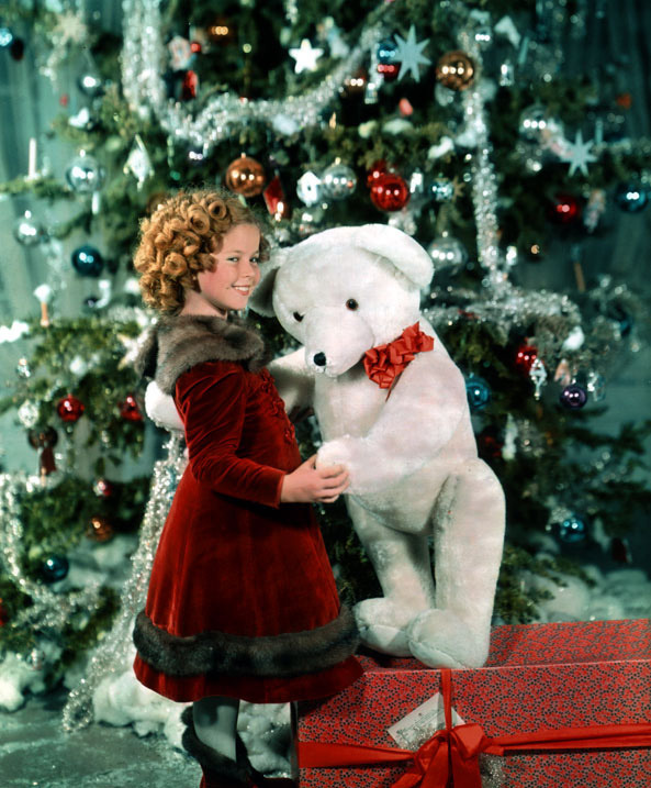 miss-shirley-temple:  Shirley Temple, Christmas 1937.