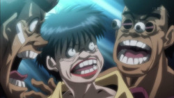 coughmanic:  If you tell me theres a better anime than Hajime No Ippo i will tell you to stuff it.