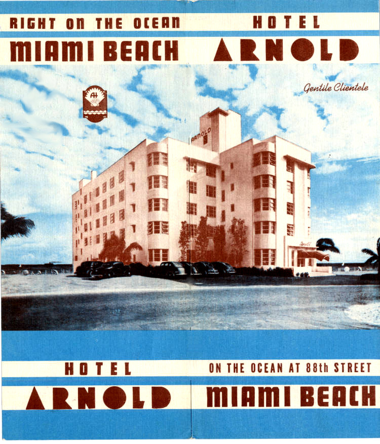 oldflorida:  Check into the Arnold. (University of Miami Collection)