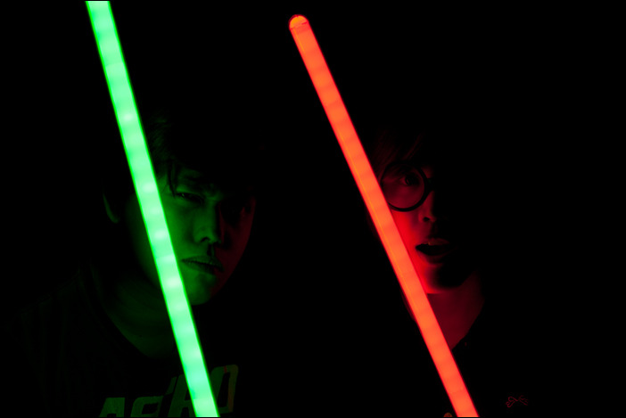 An insane amount of awesome has been reached. I foresee lightsaber fights in the near future.