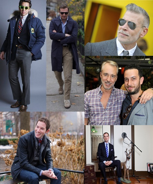 "The Oral History of Menswear Blogging We spoke with all the legends—Lawrence Schlossman, Fuck Yeah Menswear, Jesse Thorn, Michael Williams, Scott Schuman, Mister Mort, Josh Peskowitz, the Wooster, and many, many more—to discover how this whole menswear blogging thing really went down. Read the full-on history here, but first, an excerpt:   A mere half-decade ago, menswear web sites were about as hard to find as a rap album called I'm Gay. Yes, it's a brave new world: fire up your Tumblr dashboard right now and tell us you're not looking at Nick Wooster's mustache. In recent years, hundreds of menswear bloggers have helped teach a generation of sons with dad-jeans fathers how to dress along the way. Or at least, which American-made shoe brands to buy on eBay. In the early days of the menswear Internet, the conversation was born on Style.com, message boards such as Ask Andy About Clothes, and on streetwear and sneaker-centric sites such as Hypebeast—not to mention a little blog by a future GQ photographer you may have heard about. To celebrate approximately ten years of obsessive cataloging, we strapped on our double monks, rolled up our raw denim, and hit the blogosphere to track down the men who have made #menswear our favorite trending topic. Michael Williams (blogger, A Continuous Lean): I remember not having anywhere good to go. I remember when Style.com got their updated URL to include ""men,"" and that was like a big thing. I don't think, until 2008, [men's style] was taken seriously. Jesse Thorn (blogger, Put This On): The one that I most enjoyed reading was A Suitable Wardrobe. In the early years of his blog, in 2006, what he was doing was taking the canon of basic classic menswear information that you might find in an Alan Flusser book or a G. Bruce Boyer book and putting it into blog form. Will Boehlke (blogger, A Suitable Wardrobe): The Sartorialist was around. Styleforum wasn't very popular then and Ask Andy was the leading board. I was a, gosh, I don't remember the term—one of the guys who was keeping order on Ask Andy, and it was pretty obvious that there wasn't a source for men to get information about classic men's clothing. I just started writing about it. Michael Williams: I knew Scott when he first started The Sartorialist. He did a little interview with me in 2006 on there. I went back and re-read it, I was talking about made in America then. I had that obsession. Michael Bastian (Designer): We were lucky in a way because we were new when that whole phenomenon was new. So we've known nothing else. The Sartorialist, he became a buddy of ours. He actually shot one of our lookbooks really early on, that kind of started the whole thing. Mordechai Rubinstein (blogger, Mister Mort): My Google, my everything was eBay, so I never really went online that much until I heard [of] The Sartorialist. Scott Schuman (blogger, The Sartorialist): There was a blog called English Cut, by an English Savile Row tailor [Thomas Mahon] who was talking about his experience. What I thought would be great with blogs was this ability to live vicariously through other people. Lawrence Schlossman (blogger, Sartorially Inclined, How to Talk to Girls at Parties): Men.Style.com was probably the first thing that I knew of and was exposed to. That was the first thing I saw on the Internet that spoke to me as a straight guy looking for information about menswear on the Internet. The main minds behind that were Tyler Thoreson and Josh Peskowitz—you had two guys who were speaking to an audience directly that seemed to have been neglected.  Find the rest here."