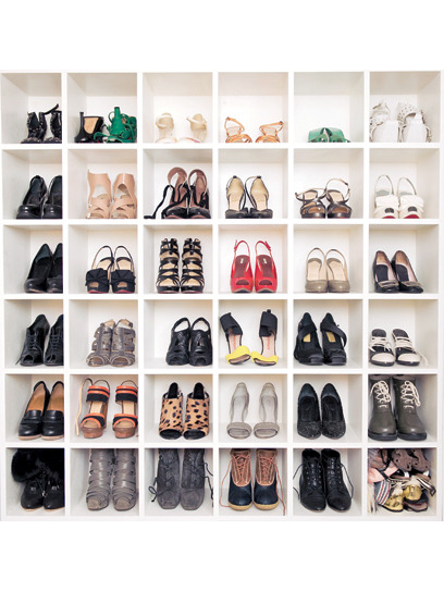 In a world wide web saturated with fashion bloggers, The Coveteur's Stephanie Mark and Erin Kleinberg are racking up visitors with glimpses into style insiders' closets, including Teen Vogue's very own Jane Keltner de Valle. Pictured above is Jane's highly covet-able shoe well. Learn more here»
