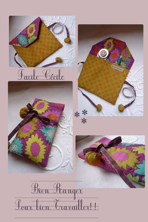 make this nice little bag to hold your sewing and quilting supplies