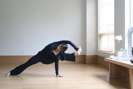 "whatithinkaboutwhenimrunning:  In the Yoga tradition, the drishti is  a point at which you focus your gaze during each of the asanas (postures). It can also refer to the larger practice of engaging your gaze on a certain point to develop concentration and resist distractions.   I practice Ashtanga Yoga regularly, in addition to running, and think that the drishti can act as a focal point in all arenas of life, not just yoga. When you consider what makes an appropriate drishti, it makes sense that you would seek a drishti during emotional hardship, illness, discomfort, or even moments of anxious excitement. A drishti should be un-moving and stable. In yoga, this means that you should not be using a wavering neighbor's head as your drishti. When he falls over, so will you.  Often, the drishti is a place on your body. During downward dog, it can be a point on your knees. This reminds us to focus on what we are doing, not on other people or other things.  A drishti subtly reminds you to be still. When you focus on the drishti during a balance pose, for example, your intent on that point gently nudges you to stand up a little straighter, grasp the floor with every single toe, and brace yourself through the core. In this way, the drishti enhances awareness of our bodies and ourselves.  There are a lot of drishtis in my life-my mom, the mantra ""Om,"" and my breath. What is your drishti? While we are on the subject of yoga, check out some Yoga for Runners from Women's Health Magazine. I think yoga (especially Ashtange, plug plug!) is a great compliment to running-helpful in preventing injury and avoiding soreness. See for yourself!  I really miss doing yoga. I'd like to tell myself I'll do it on my own at home until I can afford to take a class, but I just can't bring myself to do so without guidance. Sometimes, I need structure in order to let loose. Great post, though. I definitely need to re-find and re-focus on my drishtis."