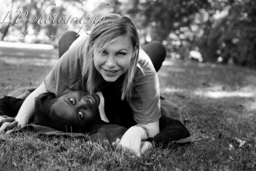 For Leah's Diversity assignment :) My bestie and I look adorable.