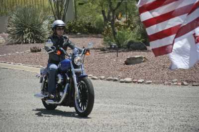 Motorcyclist Gabrielle Giffords is a Democrat, congresswoman, and co-founded the Congressional Motorcycle Safety Caucus. This is one bad ass motolady. Not only does she fight for your rights as a rider, but she also lived through an assassination attempt.