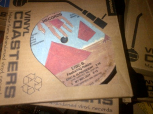 What were the chances of getting this classic in a box of 'vinyl coasters'?