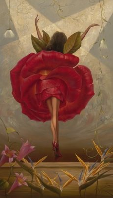 23silence:  Vladimir Kush - Flamenco dancer, 1965