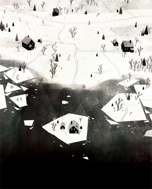 jonklassen:  This is for a book project called The Where, The What and The How: 75 Artists Illustrate the Wondrous Mysteries of the Universe that will be out next year sometime. I will post more details about it as it gets closer, but it looks like it's going to be a good one.