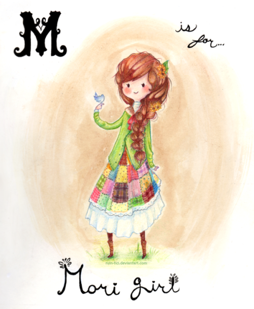M is for Mori by ~Ruin-HCI (via M is for Mori by ~Ruin-HCI on deviantART)