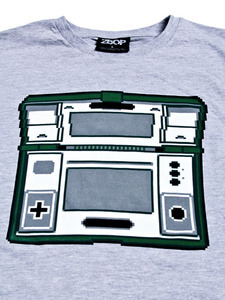 Zelda and Oil Panic Nintendo Game & Watch pixel art Tshirts available on 2bop store http://twobop.bigcartel.com/category/tees