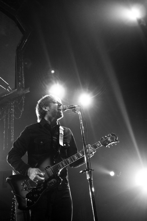 Dan Auerbach of The Black Keys | Los Angeles, CA | 12.11.2011 Having grown up just outside of Akron, Ohio and after seeing them play in tiny bars before they were ever as huge as they are now, I'm quite lucky to have had the opportunity to photograph them on stage after all their success. Oh…and their new album is the sh*t. Buy it.