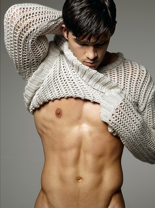mancrushoftheday:  homotography:  SimplySweaters by Vincent Dilio   Zeb Ringle. Visit The Man Crush Blog | Twitter | Facebook