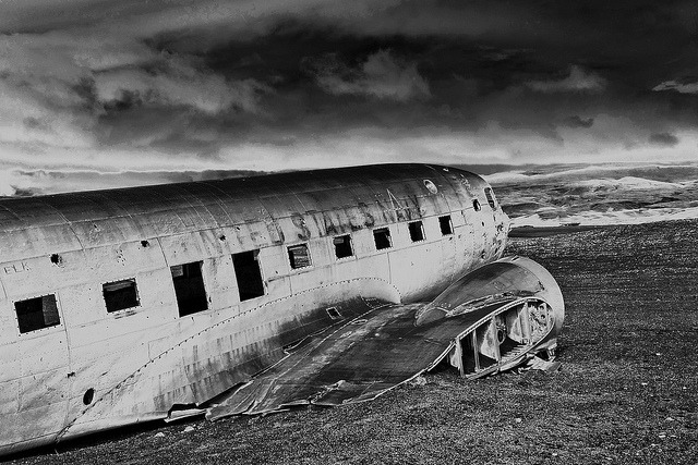 Airplane on Flickr. Sólheimarsandur (Iceland). Sept. 2011.