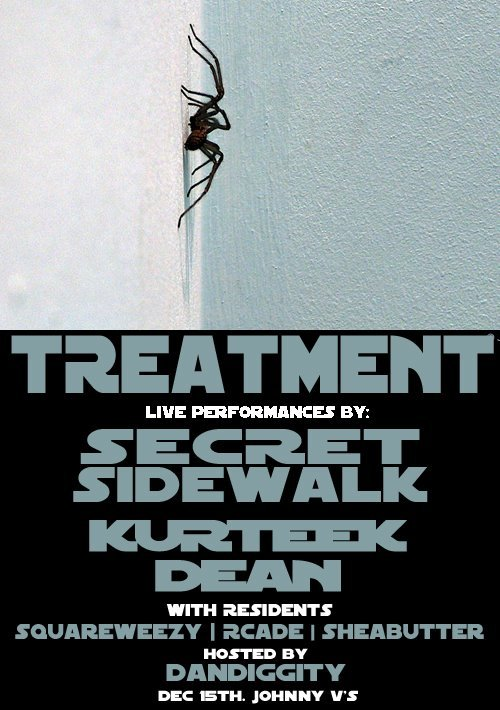 Secret Sidewalk LIVE in San Jose this Thursday. Come check us out if your in the South Bay….