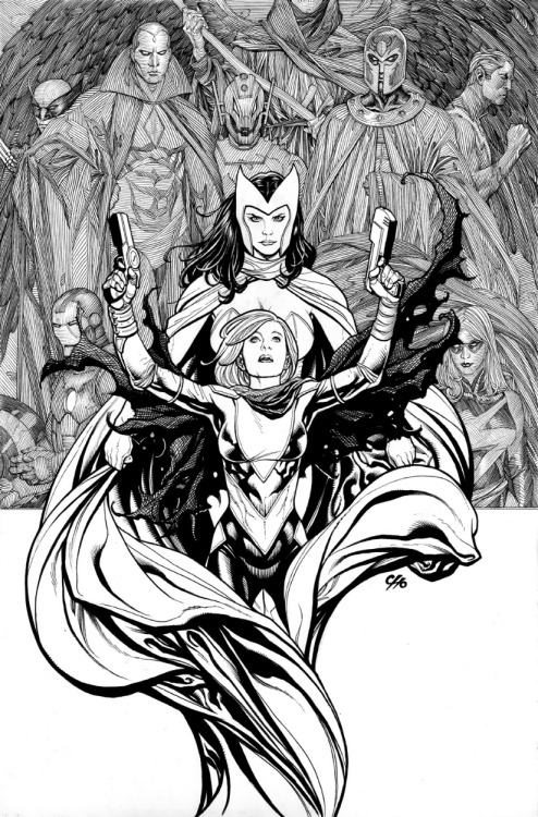 Avengers Vs X-Men #0 cover by Frank Cho. (Please note absence of huge art-obscuring logo!)