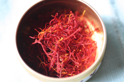 Saffron is one of my favorite culinary delights and it offers health benefits as well. Savor some in your next recipe.