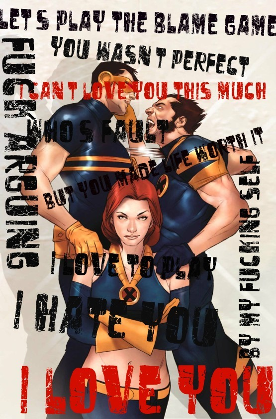 Lyrics: Blame Game Art: Ben Oliver Ultimate X-men 69 Amalgamation: Inflatablemind