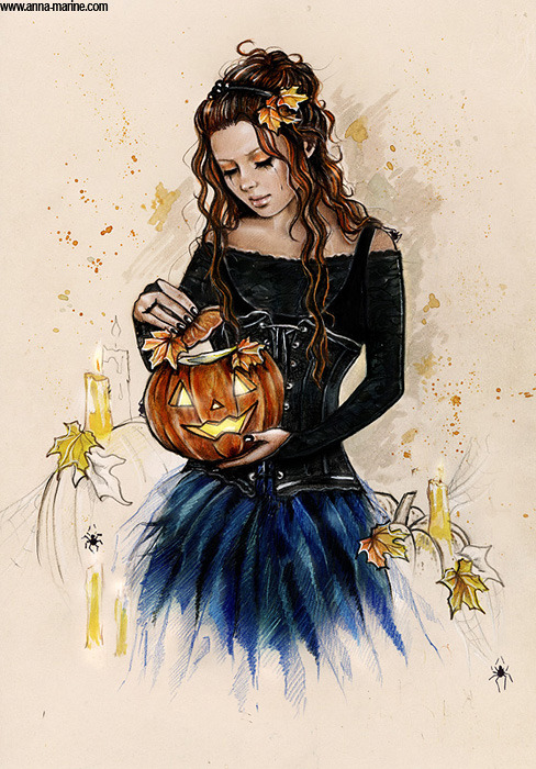 Trick or treat  by *Anna-Marine