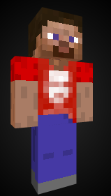 Here's a Pizza John Minecraft skin I made. The skin file is available at http://imm.io/cVca (submitted by notmadeofbeef)