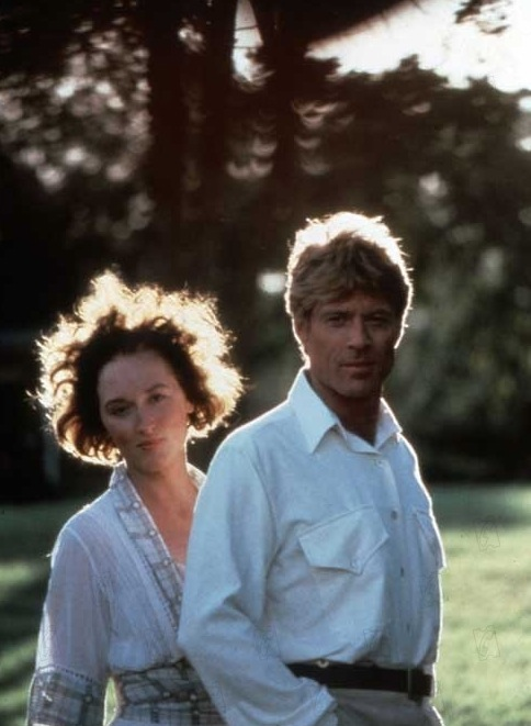 utopiaforsale:  | Meryl Streep and Robert Redford on Out of Africa