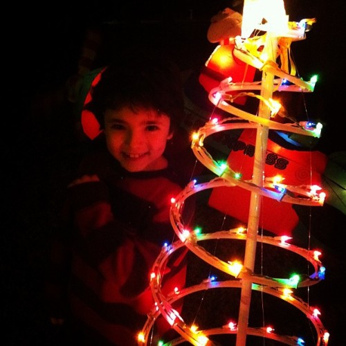 "A rousing chorus of ""Thanks Dad"" #christmas #decorations  (Taken with instagram)"