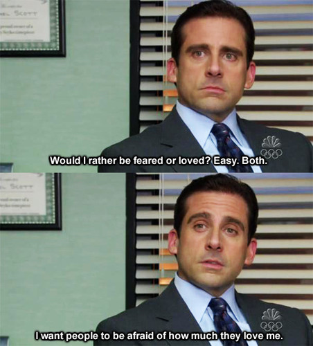 (via Michael Scott on love. - Imgur)