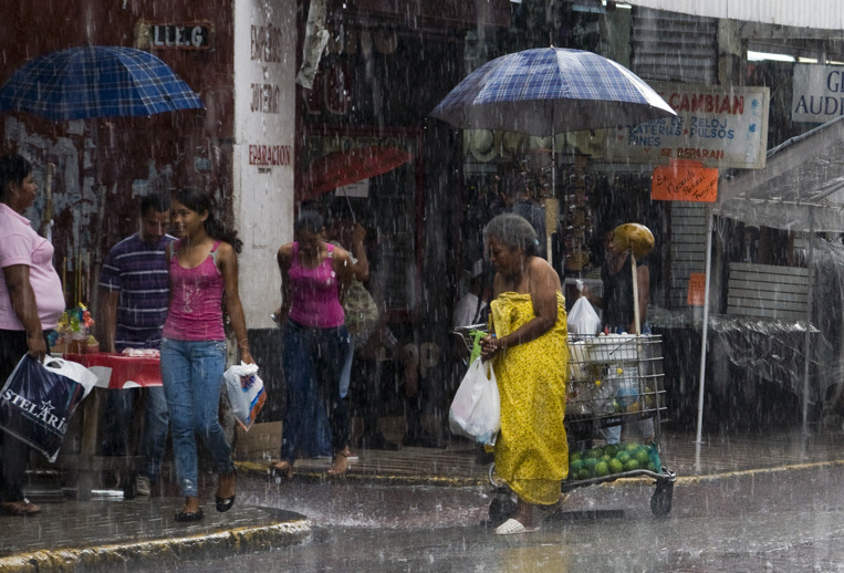 Shower Curtain The end of rain season. Panama City, Panama - © Diego Cupolo 2011