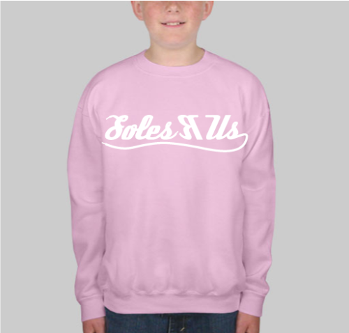 sruboystevie:  Light pink crewneck (front) $25