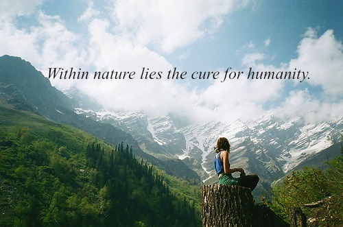 yogaprivatelessons:  within nature lies the cure of humanity