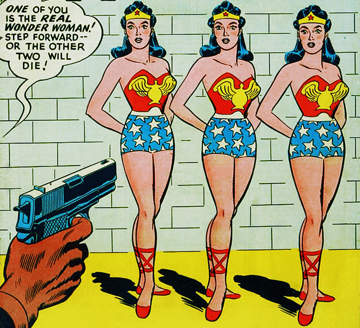 vintagegal:  Wonder Woman Vol 1 #62. November, 1953