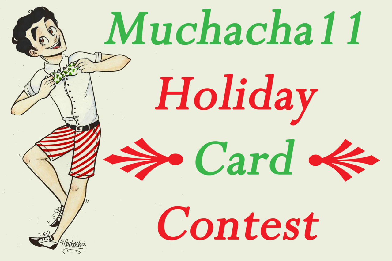 muchacha11:  Happy Holidays Everybody! I really wanted to do something for my beloved followers this holiday season! Originally, comissions were the idea, but I thought having a rebloggable give-away contest would be even more fun and super festive! To Enter: Reblog this post, ONLY ONCE! Everyone deserves an equal chance! This post will circulate Tumblr for only a short while, given that Christmas is steadily approaching! Three winners will be announced on December 17th; this Saturday at 6:00 PM on the West Coast, so reblog ASAP! I know it's a short while, but there will have to be time given to contact the winners and plan out their prize so that they can recieve it as soon as possible! The Prizes: Three Winners (generated at random) will get a chance to request a Christmas card design with any characters, people, OCs they so choose! (it does not have to be Glee characters) The three winners will have their personalized card mailed to them, along with 2 surprise sketches! Spread the Cheer! Thank you, everyone!