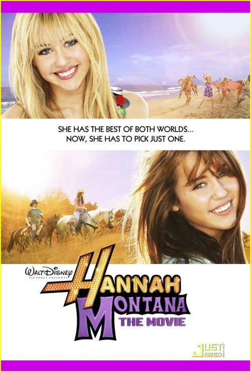 If you Watch Hannah Montana: The Movie Backwards, its about a small town that forces a girl to move far away and adopt a secret identity so that nobody knows that she came from there.