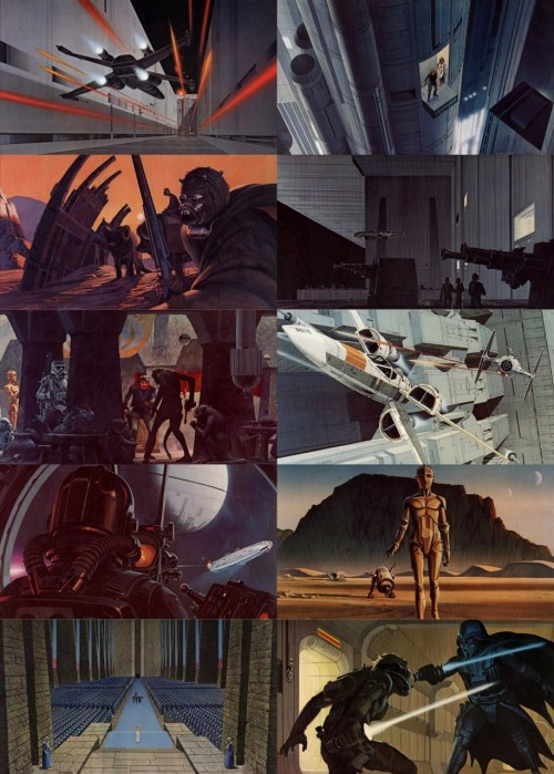 mendelpalace:   ralph mcquarrie appreciation → a new hope concept art  RIP Ralph McQuarrie