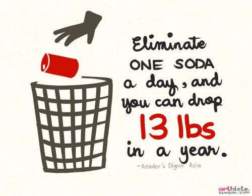 soda is so bad for you. just eliminate it altogether!