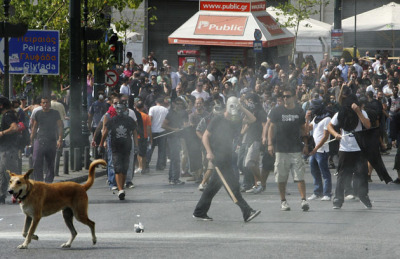 5 oct 2011, battlefield #syntagma