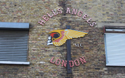 fuckyeahhackney:  Hells Angels London by cocabeenslinky on Flickr.
