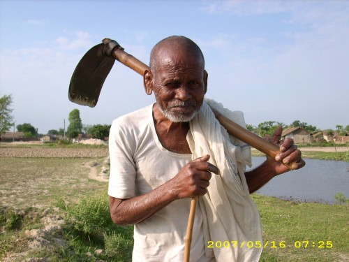 "A farmer got so old that he couldn't work the fields anymore. So he would spend the day just sitting on the porch.   His son, still working the farm, would look up from time to time and see his father sitting there. ""He's of no use any more,"" the son thought to himself, ""he doesn't do anything!""   One day the son got so frustrated by this, that he built a wood coffin, dragged it over to the porch, and told his father to get in. Without saying anything, the father climbed inside.   After closing the lid, the son dragged the coffin to the edge of the farm where there was a high cliff. As he approached the drop, he heard a light tapping on the lid from inside the coffin. He opened it up.   Still lying there peacefully, the father looked up at his son. ""I know you are going to throw me over the cliff, but before you do, may I suggest something?""  ""What is it?"" replied the son.   ""Throw me over the cliff, if you like,"" said the father, ""but save this good wood coffin. Your children might need to use it."""