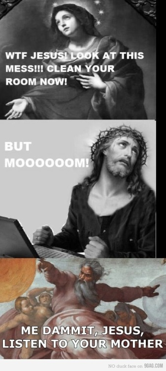 Blasphemy has never been funnier.