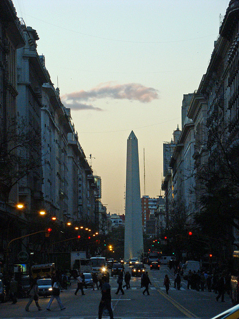 Obelisco by Gijlmar on Flickr.Via Flickr: Buenos Aires - Argentina 25 de Outubro 2011