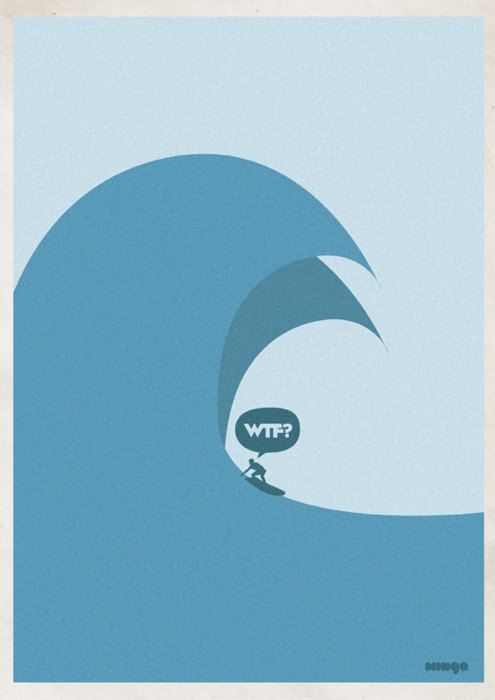 Illustrations « WTF » par le studio Minga