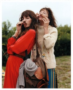 Jane and Lou, Vogue China December 2011