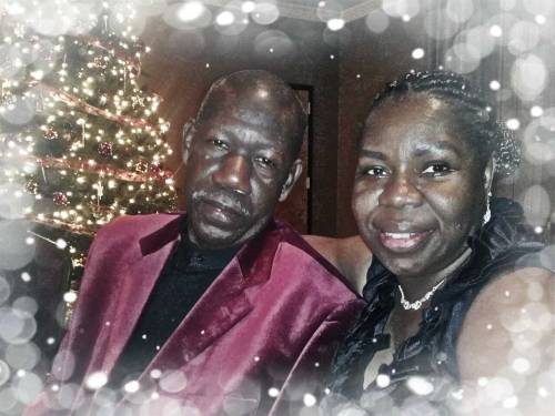 My parents at the military Christmas party 2011