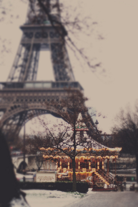 Tres fabulous! Now this inspires a love story… esterteres:  Paris in winter