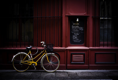 Photo by Jeremie Caillard: Vintage Bicycle. Paris, France, 2011