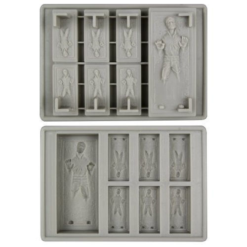 Han Solo in Carbonite Ice Tray Use it to make chocolate or other deserts also. $8.95