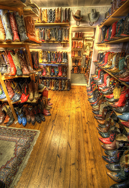 my closet almost looks like this