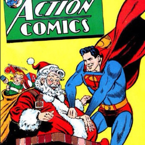 This Superman comic is full of holiday cheer…and awkwardness.  (Taken with instagram)