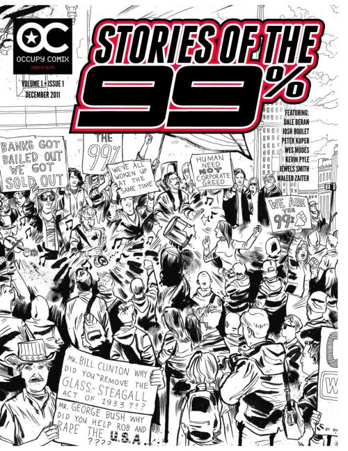fuckyeahmarxismleninism:  Occupy Comix #1: Stories of the 99% Occupy Comix is being launched to bring you the anecdotes, glimpses, pictures and critical stories and dreams of struggle occurring all around us. This issue is the first of what will hopefully be a free bi-monthly illustrated publication chronicling the lives and issues of the 99%. We believe that artists and writers can help transform our world, to build a new Mythos of Hope. Let us know what you think. Free to download  Great idea!