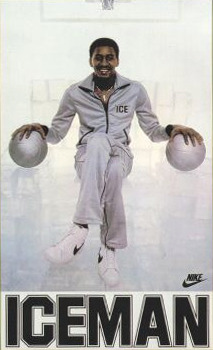"heckyeahjsmith:  George ""The Iceman"" Gervin"